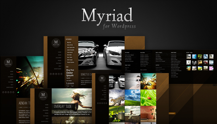 Myriad Wordpress Theme