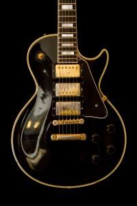 Black Beauty Gibson Les Paul guitar