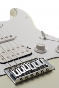 electric guitar bridge