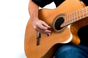 Playing Brazilian bossa nova jazz guitar